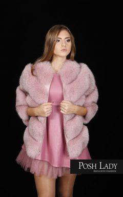 Палто от финландска лисица