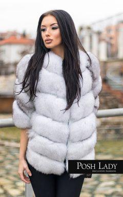 """Палто от полярна лисица """"Winter"""""""