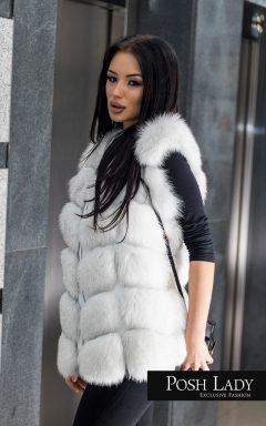 Елек от полярна лисица