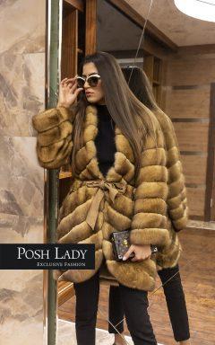 Палто от норка Lux Gold