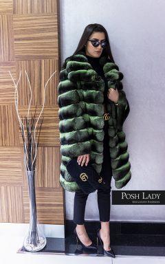 """Палто с яка от чинчила """"Chinchilla"""""""