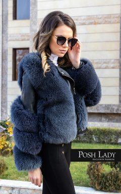 """Палто от лицица """"Blue Fox"""""""