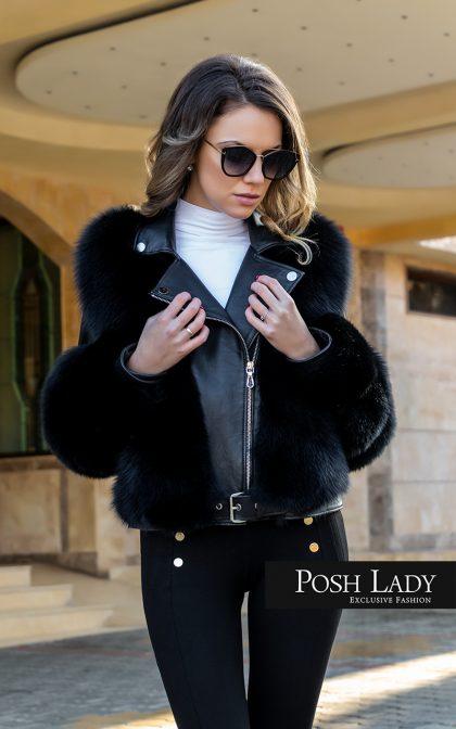 """Палто от лисица """"Black Fox"""""""
